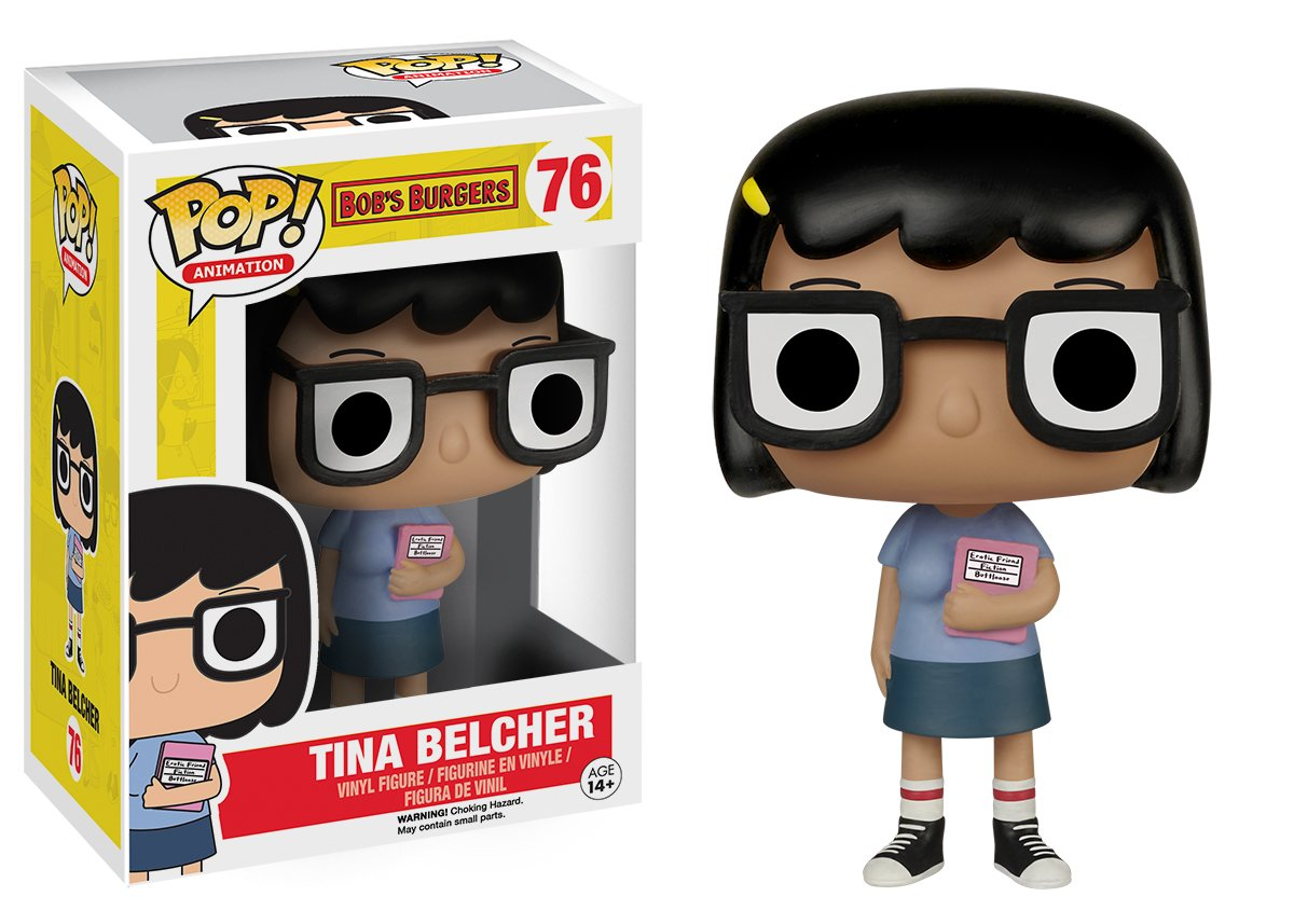 Product Toys /& Games Miscellaneous Funko POP Animation Bobs Burgers Tina Action Figure Funko POP Animation Bob/'s Burgers Tina Action Figure 6467 Accessory Misc