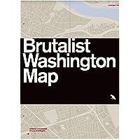 Image for Brutalist Washington Map
