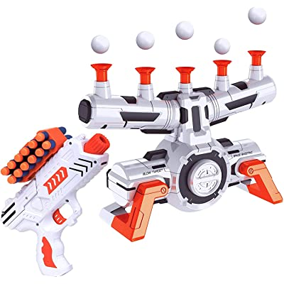 CAIDUD Compatible Nerf Targets for Shooting - AstroShot Zero G Floating Orbs Nerf Target Practice with Blaster Toy Guns for Boys or Girls and Foam Darts: Toys & Games