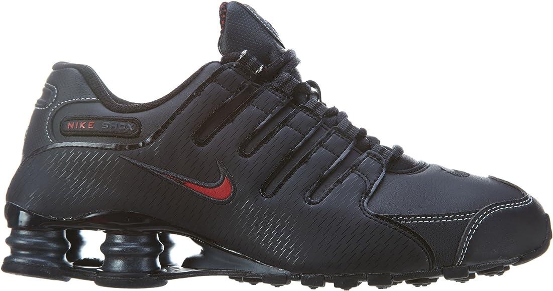 Nike Men's Shox NZ Running Shoe Black