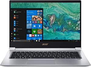 "Acer Swift 3 SF314-55-55UT Laptop, 14"" Full HD, 8th Gen Intel Core i5-8265U, 8GB DDR4, 256GB PCIe SSD, Gigabit WiFi, Back-Lit Keyboard, Windows 10 (Renewed)"
