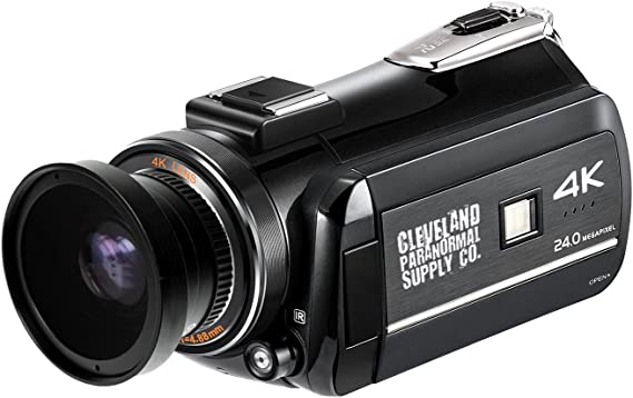 4K Ultra HD Infrared Night Vision and Full Spectrum Camcorder - Ghost Hunting Camera