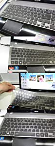 Laptop High Clear Transparent Tpu Keyboard Protector Cover for Acer E5-571 E5-571P E5-572G E5-511 ES1-512 V3-572G V3-551G V3-571G VN7-791G V3-771G V3-731G