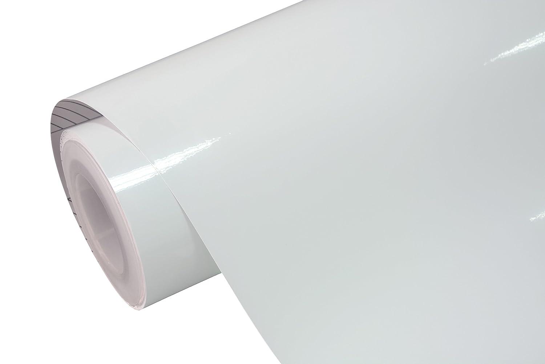TECKWRAP White Gloss Car Vinyl Wrap Roll with Air Release Technology 11.5x 55 4350413827
