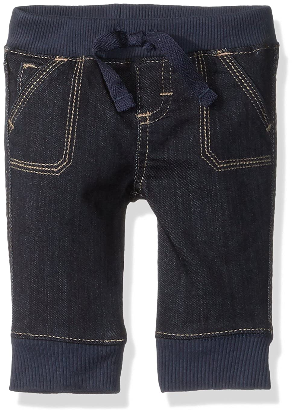 Wrangler Authentics Baby Boys' Jogger Jean Dark Alloy 3-6M ZN3SJDA