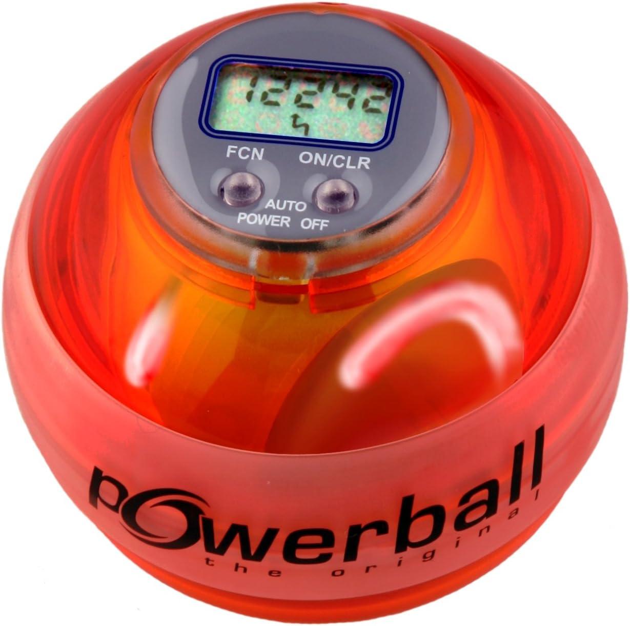 Powerball Max Red Powerball color naranja transparente