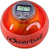 Powerball the original Max Rot, mit Digital-Drehzahlmesser und 6 LEDs