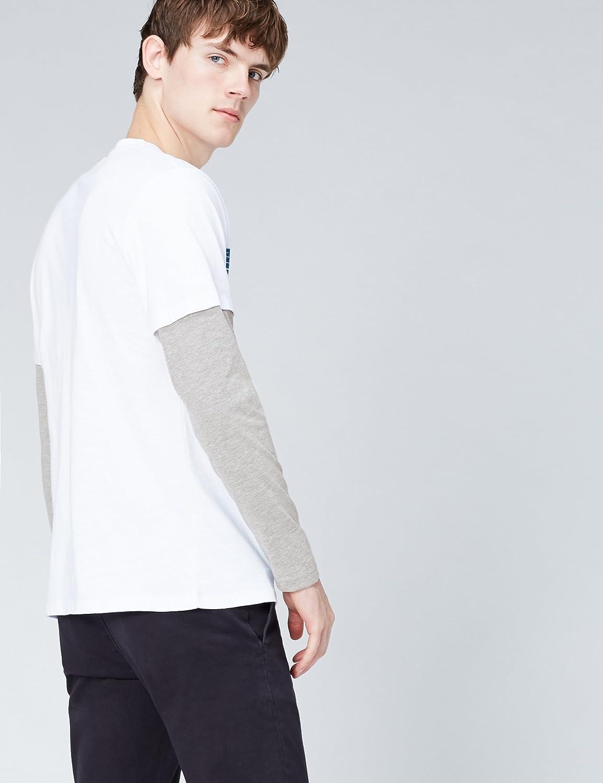 find Camiseta de Manga Larga con Estampado para Hombre Marca