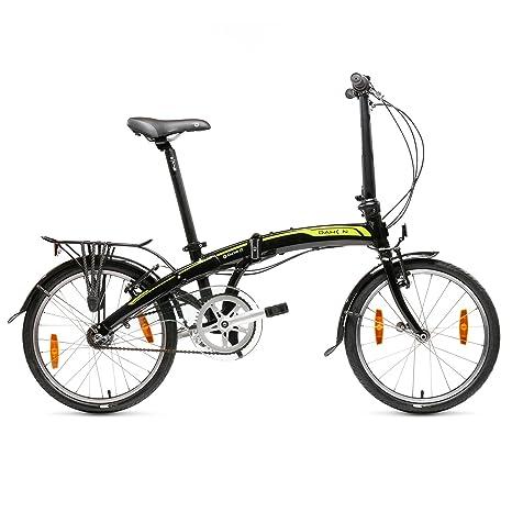 Dahon Curve I3 Bicicleta Plegable, Unisex Adulto, Negro Obsidian, 20