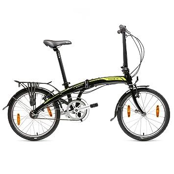 "Dahon Curve I3 Bicicleta Plegable, Unisex Adulto, Negro Obsidian, 20"""