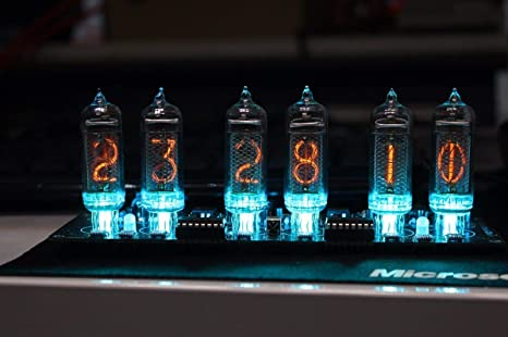 Amazon com: NIXT CLOCK - IN14 Nixie Clock DIY KIT Power