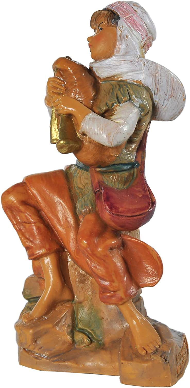 Fontanini Statuine Presepe Pastore Che Suona la Zampogna 12 cm 173