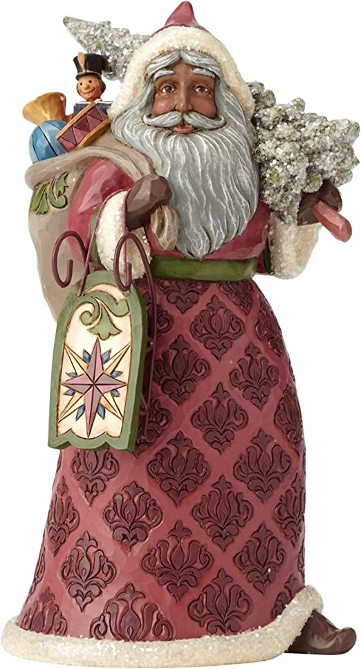 5 Jim Shore for Enesco Heartwood Creek Victorian Santa Ornament