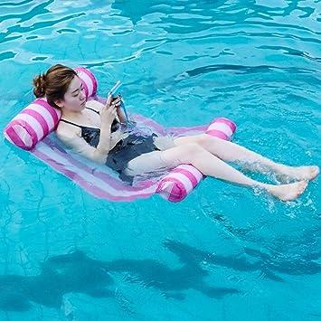 Amazon.com: HOKUGA Silla de piscina hinchable - Colchón ...