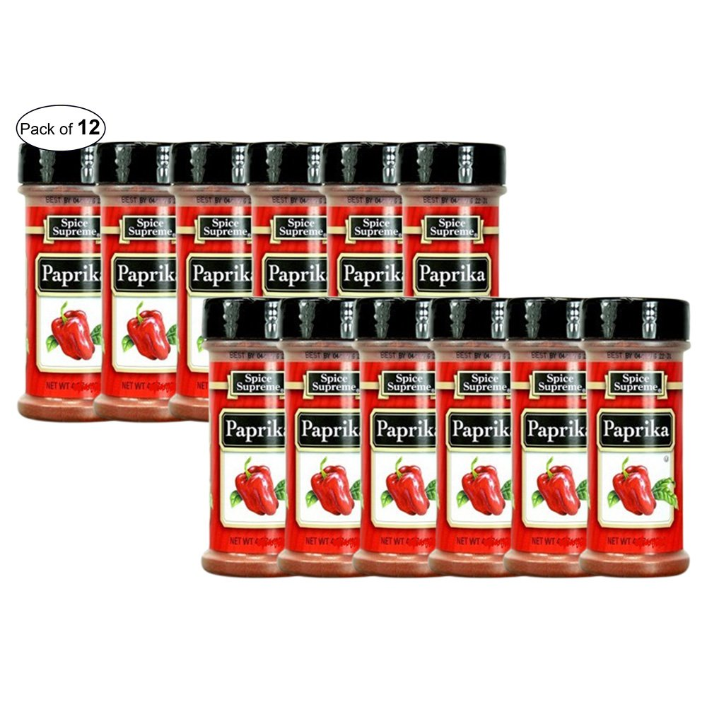 Spice Supreme Paprika 70g (Pack of 12)
