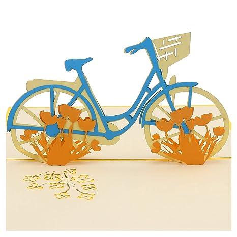 Amazon.com: Ninrio - Tarjeta de felicitación 3D con diseño ...