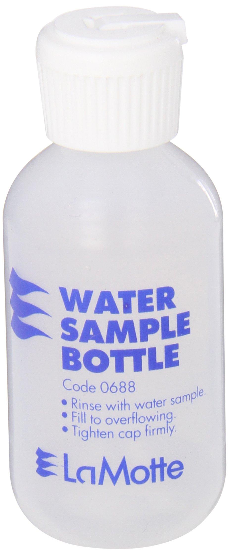 LaMotte 0688 Plastic ColorQ Water Sample Bottle, 2oz Capacity