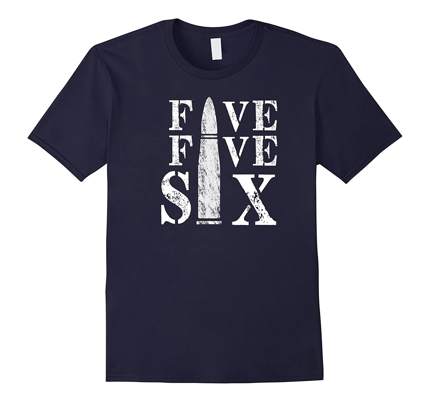Five Five Six 5.56 AR-15 T-Shirt-FL