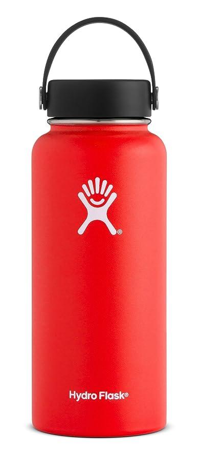 Hydro Flask W32TS611 Mouth 32 oz  Wide Water Bottle, 946 ml, Lava