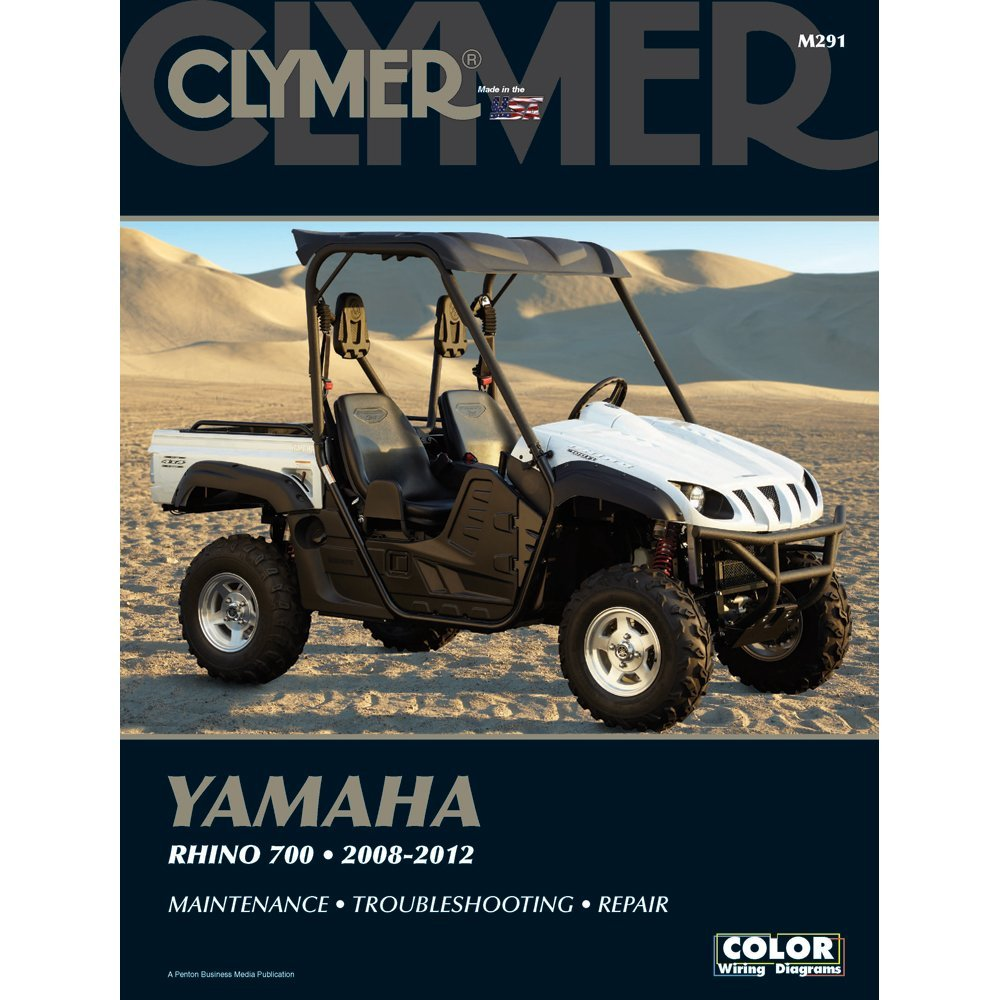 The Amazing Quality Clymer Yamaha Rhino 700 2008 2012 450 Wiring Diagram Free Picture Office Products