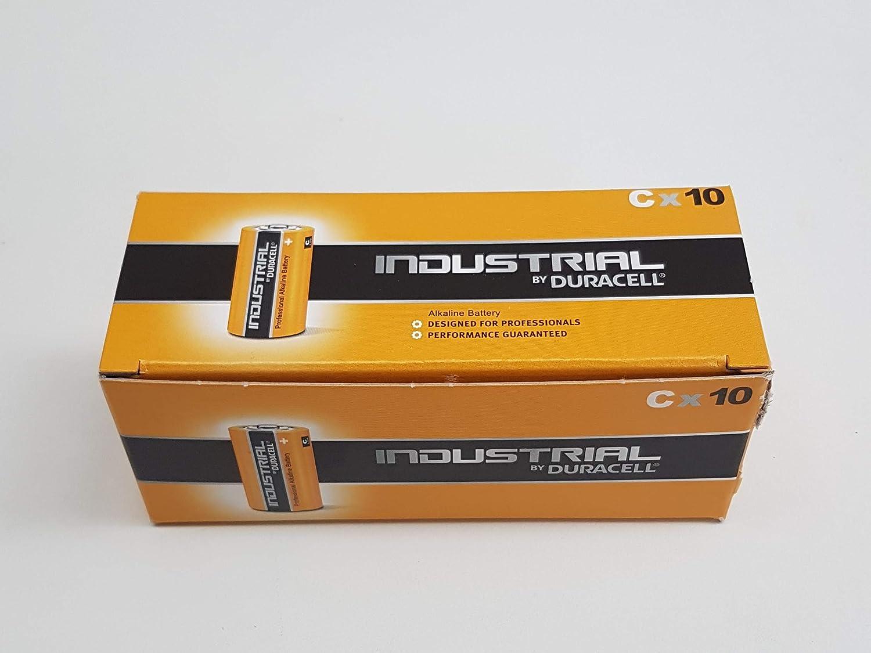 Duracell Industrial Professional Alkaline Cbatterijen 1 5v Lr14 Business Industry Science