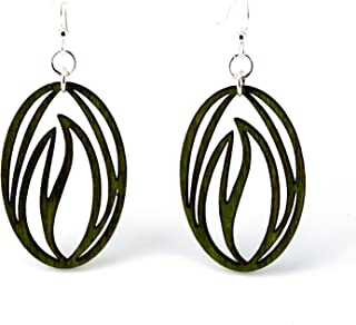 product image for Grass Blade Earrings