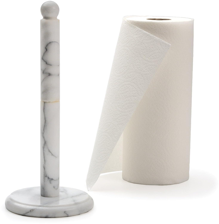 RSVP White Marble Paper Towel Holder [Kitchen] MTH