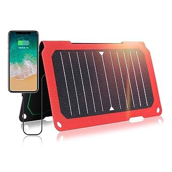 HJG 14W portátil Cargador del Panel Solar y Cargador de ...