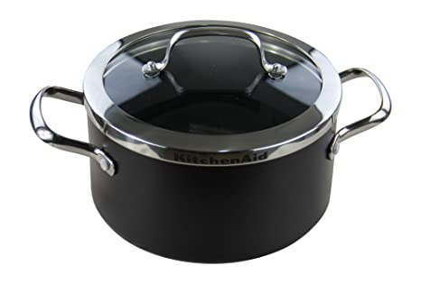 KitchenAid - Olla (20 cm de diámetro, 3,1 l,