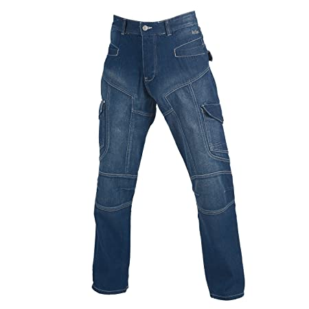2a81ef4a URBNLIVING Mens Cargo Mid Blue 30R Lee Cooper Jeans: Amazon.co.uk ...