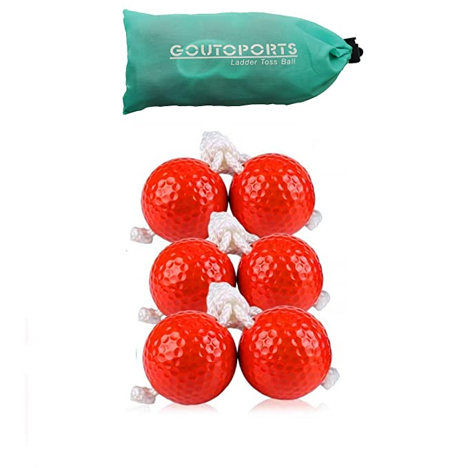 Amazon.com : Goutosports Ladder Toss Replacement Balls for Ladder Toss Game with Real Golf Ball (3 Pack Blue) : Sports & Outdoors