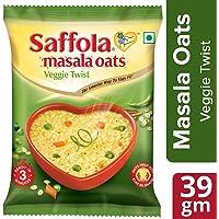 Saffola Masala Oats, Veggie Twist, 39 g