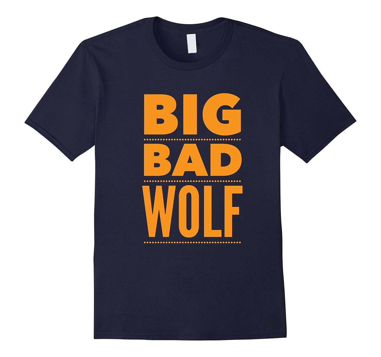 Big Bad Wolf Funny Halloween T-Shirt Costume Tee Shirt-FL