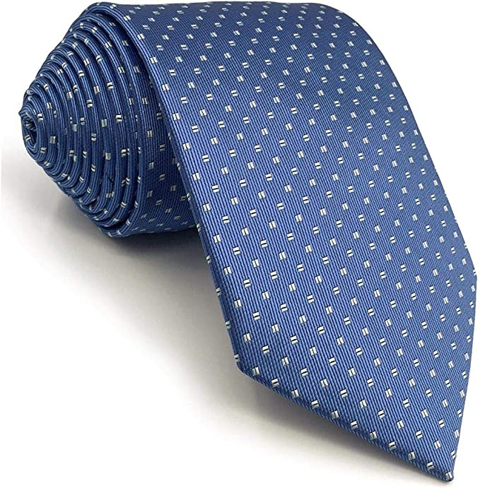 S&W SHLAX&WING Puntos Corbatas Para Hombre Azul Nuevo Diseño 147cm ...