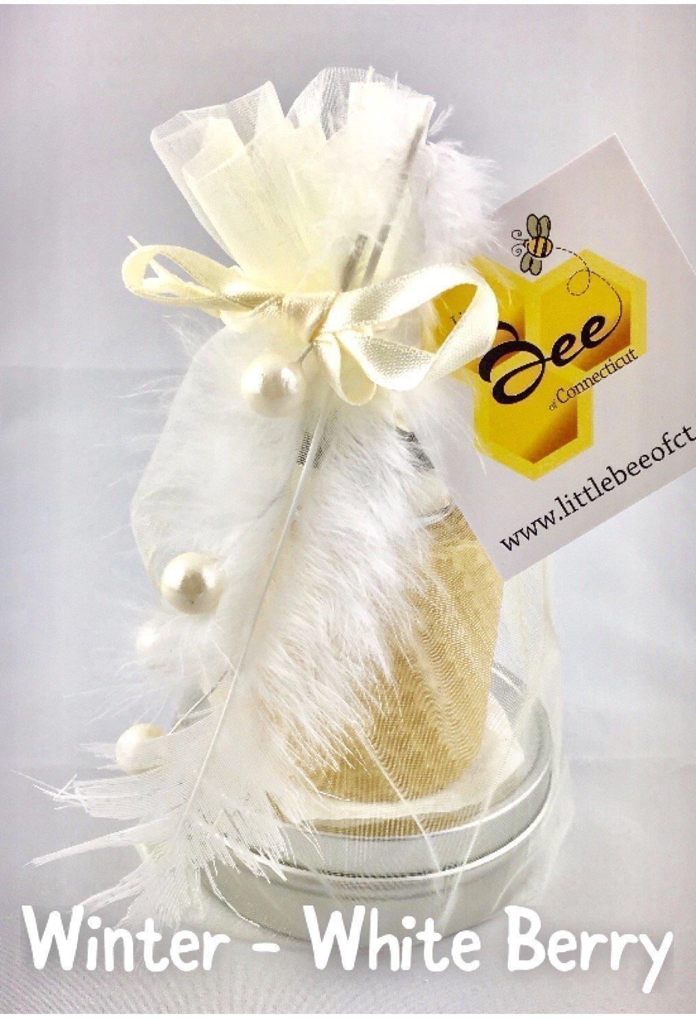 Little Bee of CT Gift Tower (Body Salve, Votive, & Lip Balm) - A Martha Stewart American Made Maker