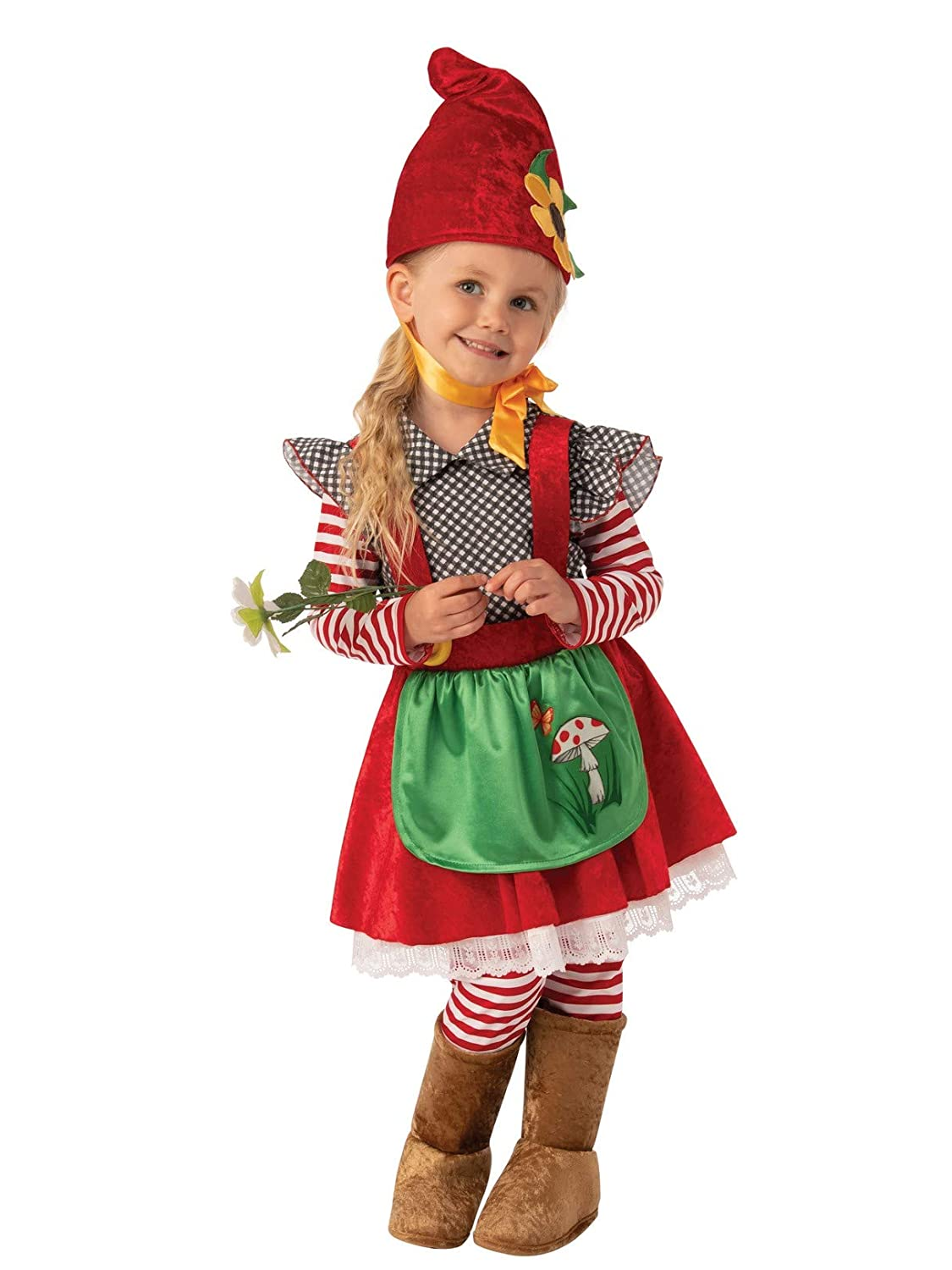Amazon.com Rubies Garden Gnome Girls Child Dwarf Costume