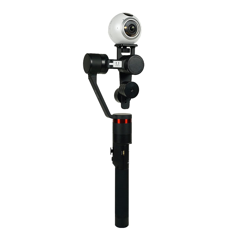 Sony x3000r Feiyu Tech fyg360/Panoramic C/ámara Gimbal para Samsung Gear 360 Kodak SP360 Color Negro Apple iPhone