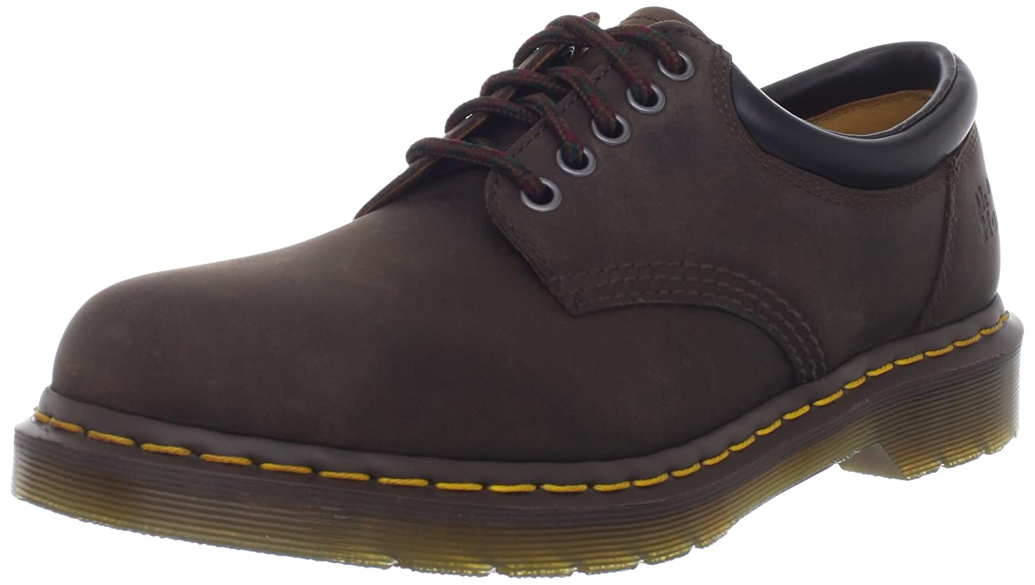 Dr. Martens unisex-adult 8053 5 Eye Padded Collar Boot B002HHSF1A 3 UK/Women's 5, Men's 4 M US|Gaucho Crazy Horse