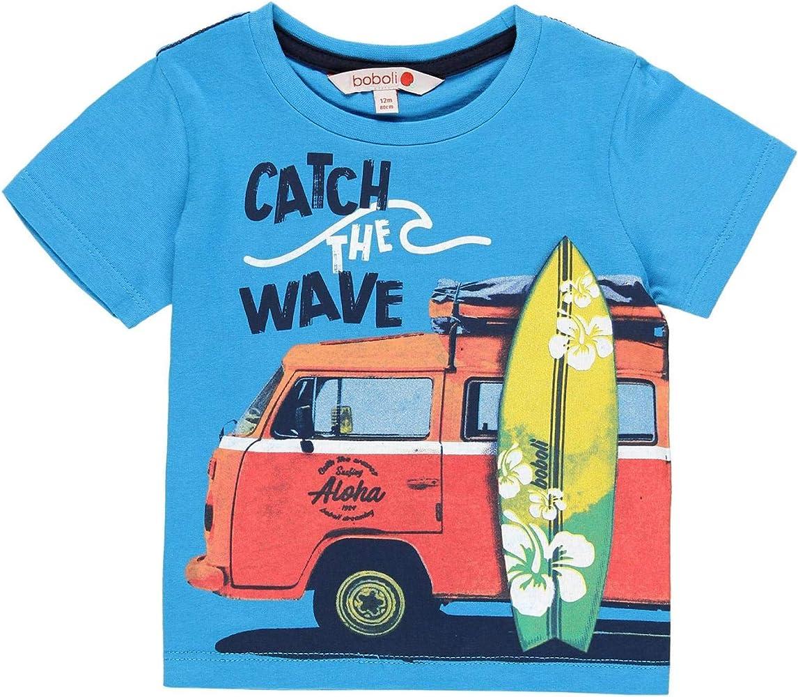 boboli Camiseta Manga Corta Punto Liso de beb/é ni/ño Modelo 339050