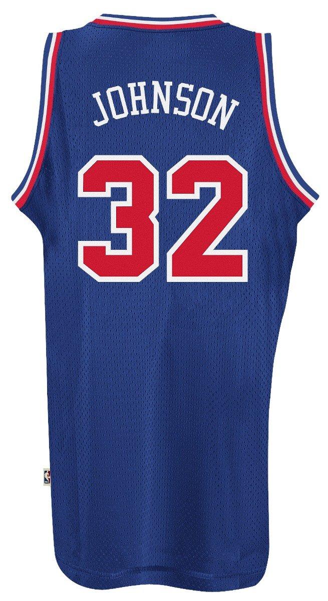 a5c406d35 Amazon.com   Magic Johnson Los Angeles Lakers Adidas NBA 1992 All-Star Game  Swingman Jersey   Clothing