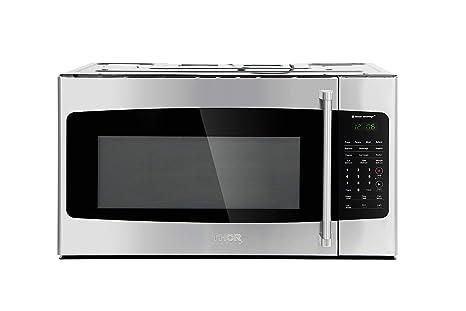 Amazon.com: Cocina fina: 30.0 in. W 1.7 cu. Microondas de ...