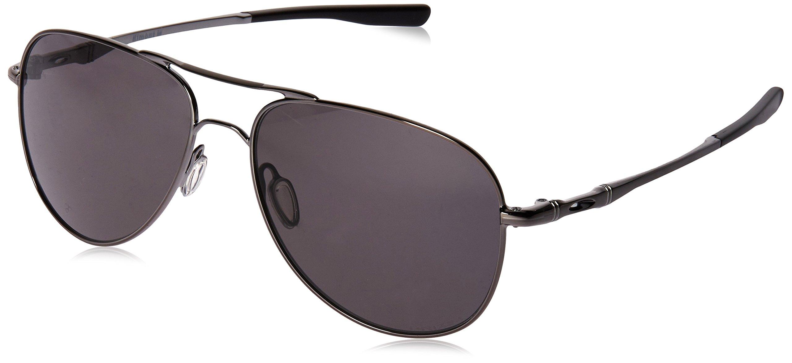 Oakley Men's Elmont M Sunglasses,Polished Gunmetal