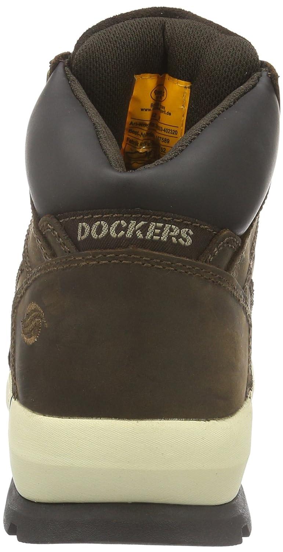 Dockers by Stiefel Gerli Herren 39or003-402320 Kurzschaft Stiefel by Braun (Cafe 320) 4c0526