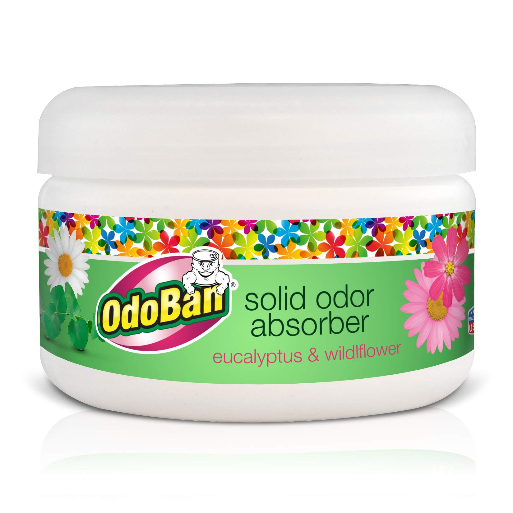 OdoBan Disinfectant Odor Eliminator and All Purpose Cleaner, 32 oz Spray and 1/2 Gallon Concentrate, Original Eucalyptus, Plus Solid Odor Absorber by OdoBan (Image #4)