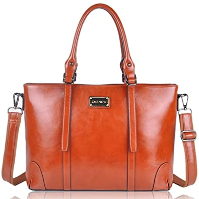 61caceb76 Amazon.com: ZMSnow Laptop Bag, Professional Laptop Tote Briefcase Large  Capacity Design for Women Up to 15.6 Inch Laptop: Shoes