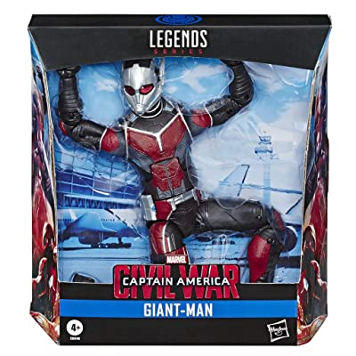"Play-Doh Hasbro Marvel Legends Series Build-A-Figure Deluxe 6"" Scale Collectible Action Figure Giant-Man Toy, Premium Design, for Kids Ages 4 & Up: Toys & Games"