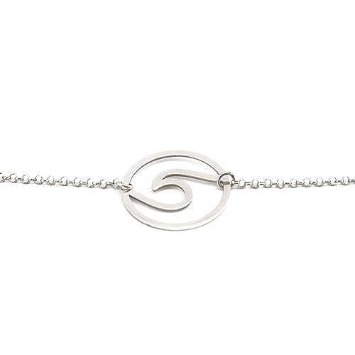 Bracciale Wave in argento di qualità Sterling