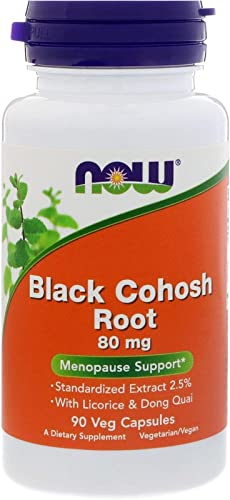 NOW Foods Black Cohosh 80 mg