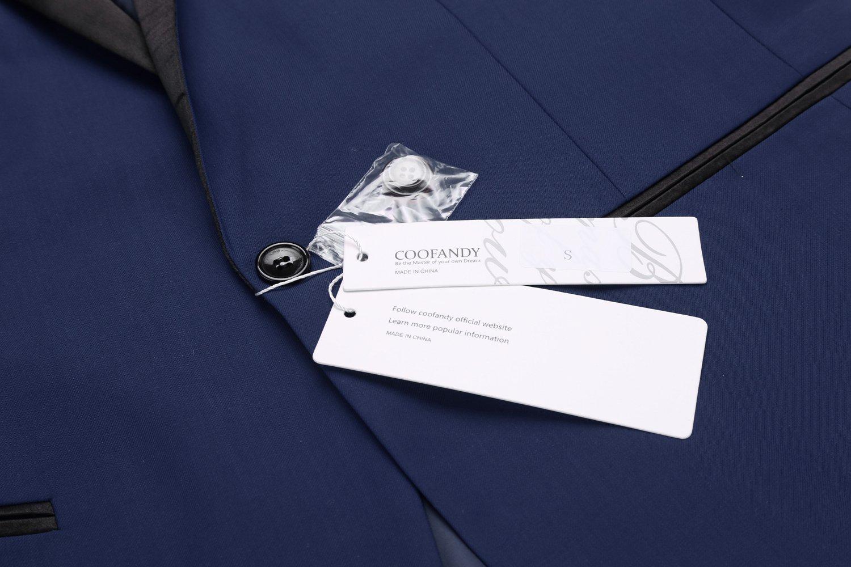 COOFANDY Men's Slim Fit Blazer Jacket Casual One Button Suit Coat by COOFANDY (Image #6)
