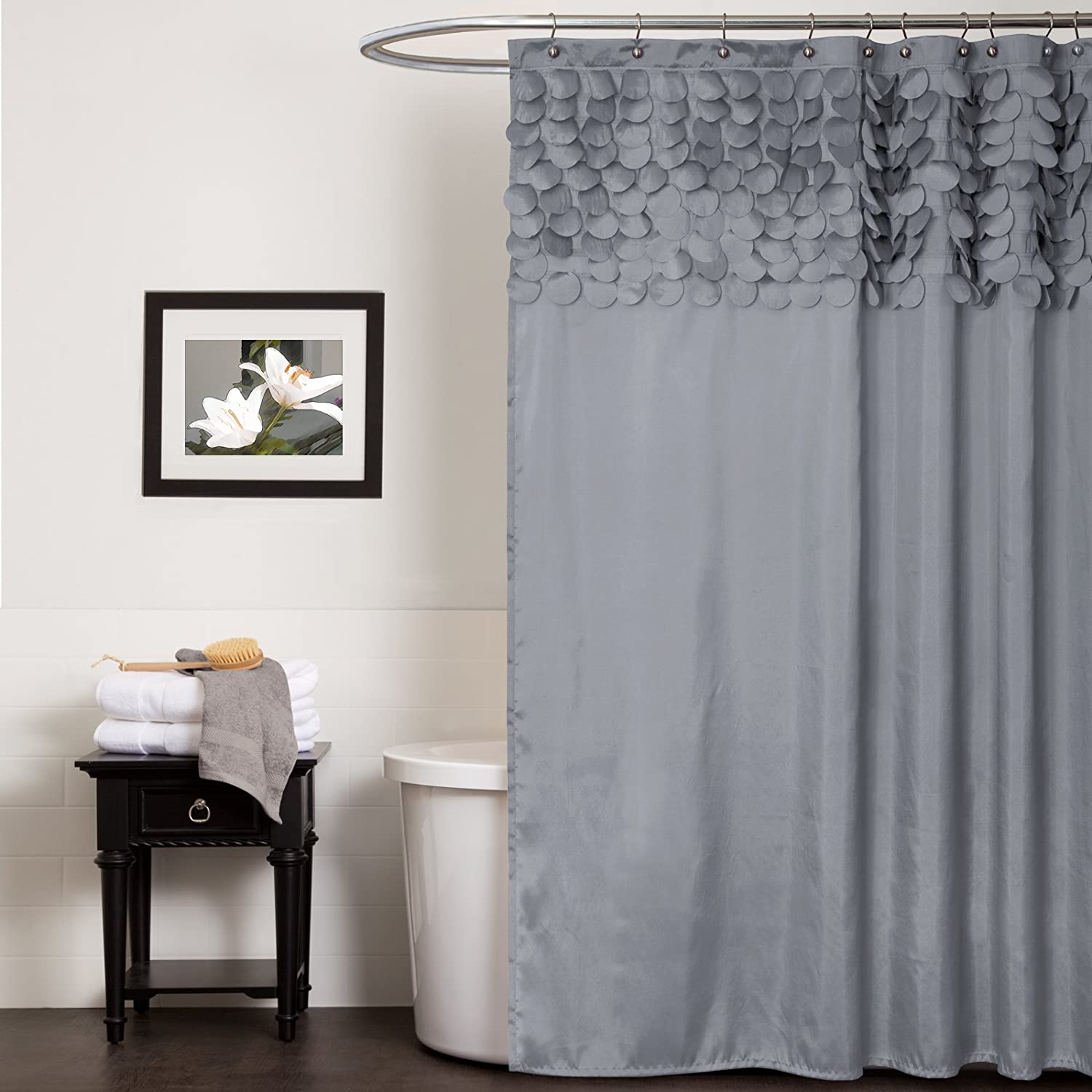 valance gray shower p nimbus also with x attached might stripe you fabric consider curtain